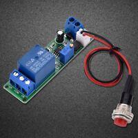 Timer Interrupteur de Contrôle/Module de Relais Réglable 12V DC 1-10 Secs