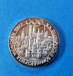 Silbermedaille Münze Olympische Sommerspiele München 1972 Silber 999,9 - 15g