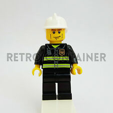LEGO Minifigures - 1x cty043 - Fireman - Pompiere Omino Minifig 7906 7945 4992