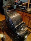 VERY RARE # 5 Polished Nickel-Plated Brass National Candy Store Cash Register