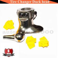 30mm Motorcycle Tire Changer Cast Steel Mount Demount Duck Head Tools + 3 Pads