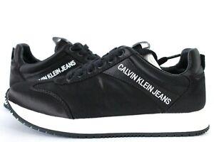 Calvin Klein Jeans Jill Low Top Womens Trainers UK Size 7