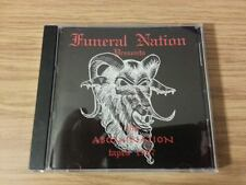 "Funeral Nation "" 1987 Abomination Tapes "" cd-r Abomination Satanic Venom Master"