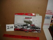 1/64 Case IH Dealer Pickup with Trailer & Farmall 100  - New in package