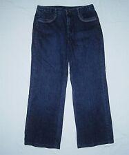 Womens Talbots Stretch Flair  Jeans Size 14 Decorative Stitching W34 L28