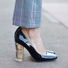 Zara Block Court Shoes for Women