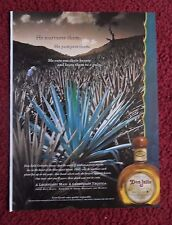 2001 Print Ad Don Julio Tequila ~ Agave Aloe Plant Farmer Cuts out their Hearts