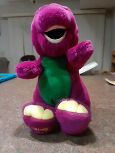 "Dakin Barney 14"" Plush 1992 The Lyons Group - Vintage Stuffed Barney"