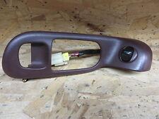 INFINITI Q45 Q 45 91-94 1991-1994 REAR POWER WINDOW SWITCH & BEZEL DRIVER LH