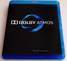 Dolby Atmos Blu-Ray Demo Disc Sept 2015 with Free subwoofer bass demo dsk