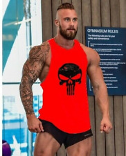 New Mens Gym Clothing Stringer Bodybuilding Tank Top Muscle Shirt Fitness