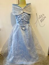 Disney Store Girls Cinderella Dress Costume With Shawl - Age 7-8 Years
