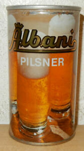 ALBANI Pilsner Straight Steel Beer Can from DENMARK (35cl)