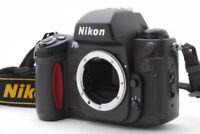 Nikon F100 SLR 35mm Film Camera Black From Japan NEAR MINT Body With Strap