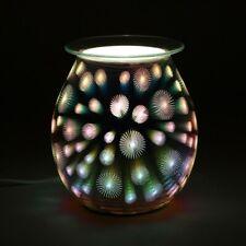 """STARBURST"" LIGHT UP ELECTRIC OIL/ WAX MELTS BURNER / WARMER"