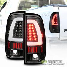 Black 1997 2003 Ford F150 Led Light Bar Tail Lights Brake Lamps Leftright 97 03 Fits 1997 Ford F 150