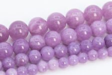Natural Quartz Bead Kunzite Purple Color Grade AAA Round Loose Beads 6/8/10/12MM