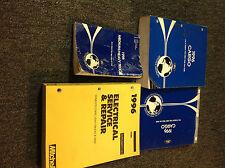 1996 Ford Cargo Truck Service Shop Repair Workshop Manual Set W EVTM + SPECS
