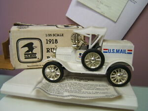 Ertl 1918 Ford Model T Runabout US Mail 1988 Edition Ltd Ed 1/25 VGC in Box
