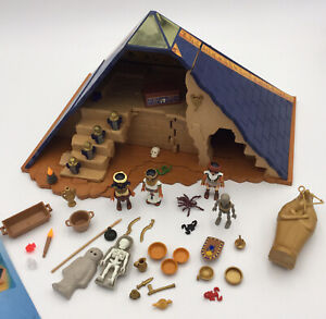 Playmobil History 5386 Egyptian Pyramid, Accessories + Instructions.