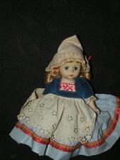 Vintage Madame Alexander Dutch Girl # 791 Bend Knee