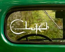 2 CLUTCH BAND DECALs Sticker For Car Truck Laptop 4x4 Window Bumper Rv Boat