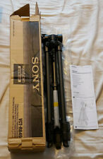 Sony VCT-R640 Tripod for Digital Camera Camcorders + WITH RELEASE PLATE