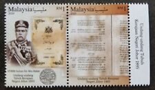 *FREE SHIP Malaysia 125th Of Johor 's Constitution 2020 Sultan Royal (stamp) MNH