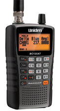 Uniden BC125AT 500 Alpha Tagged Channel Bearcat Handheld Scanner New