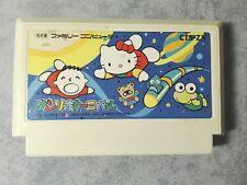 SANRIO CARNIVAL HELLO KITTY NINTENDO FAMICOM NES 8 BIT GIAPPONESE JAP JP NTSC-J