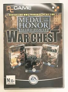 AUS Medal of Honor Allied Assault War Chest WWII 3D Shooter D-Day to Berlin