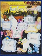 Cross Stitch Pattern Soft Terry Treasures Baby Designs