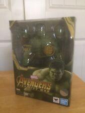 SH Figuarts Marvel Avengers Infinity War Hulk Bandai Open Box