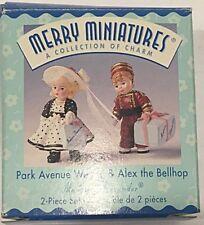 Park Avenue Wendy Alex Bellhop Hallmark Merry Miniatures Madame Alexander 1999