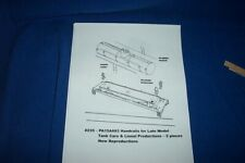 American Flyer Parts - PA15A693 Straight Handrails for Tank Cars 2 pcs #235