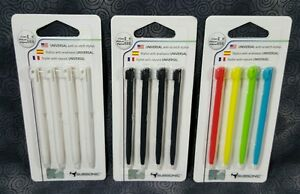 Subsonic Universal Anti Scratch Replacement Stylus DS Lite DSi DSi XL 4 Pack