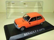 RENAULT 5 1972 Orange  IXO 1/43 J3