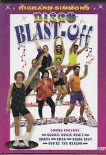 Richard Simmons Disco Blast off DVD 42 Minute Workout Video 2001 Weight Loss