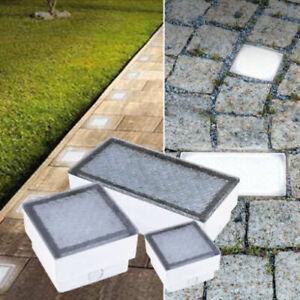 LED Pflasterstein Bodeneinbaustrahler Außenleuchte Gartenleuchte IP67-68 230V