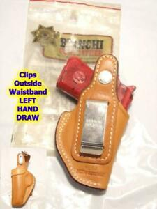 LEFT 18J BIANCHI Clip On Holster for BERETTA Model 20 & Jeftfire & Minx .25/.22