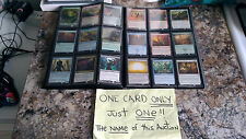 """MAGIC THE GATHERING: """"Wildfire Eternal"""" - RARE - One Card ONLY!"""