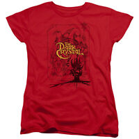 The Dark Crystal Movie POSTER LINES Licensed Women's T-Shirt All Sizes