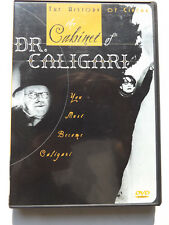 The Cabinet of Dr. Caligari (DVD, 2004, The History Of Cinema)