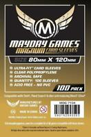 MAYDAY GAMES 'Dixit' Board Game Card Sleeves Clear Size 80 x 120mm 100ct