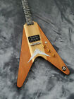 1980 Dean Flying V Made in USA Vintage Electric Guitar - Natural