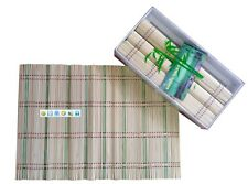 Bulk Lot 40 Pcs * bamboo table placemat  42*30CM