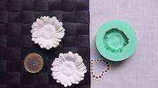 3D Silikonform Sonnenblume / Seifengießen / Basteln / Hobby Giessform Blume