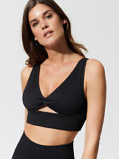 New Free People Womens Movement Shakti Seamless Sports Bra Ribbed Bralette $48