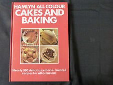 HAMLYN ALL COLOUR CAKES AND BAKING COOKBOOK