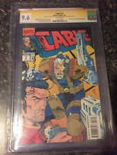 CABLE #3 CGC SS 9.6 SIGNED 3x 1ST APP WEASEL DEADPOOL MOVIE